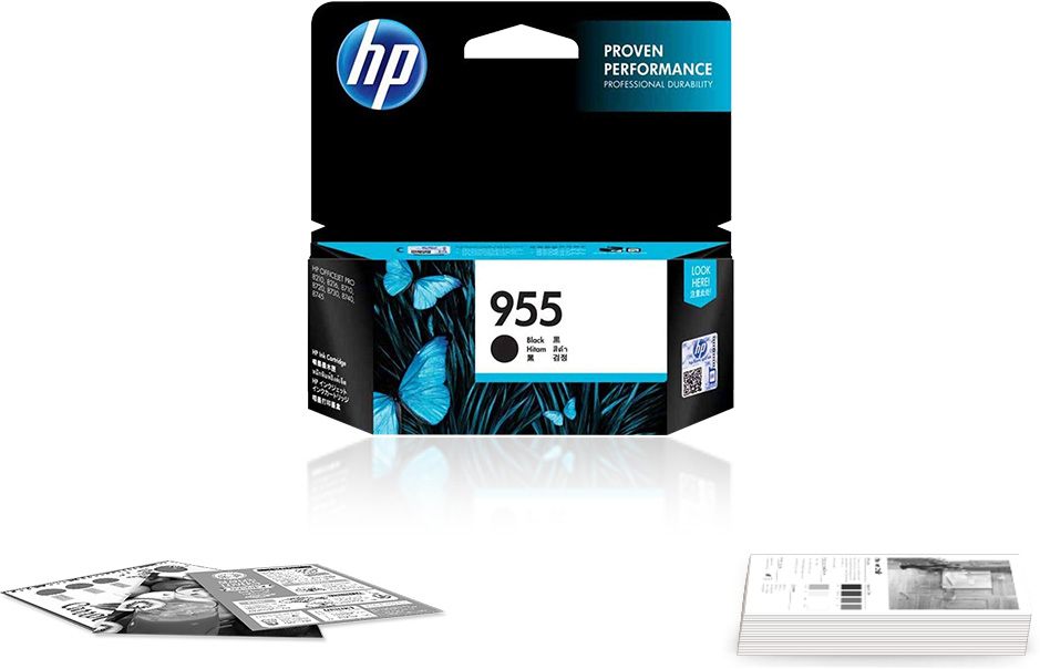 Original HP 955 Black Ink Cartridge