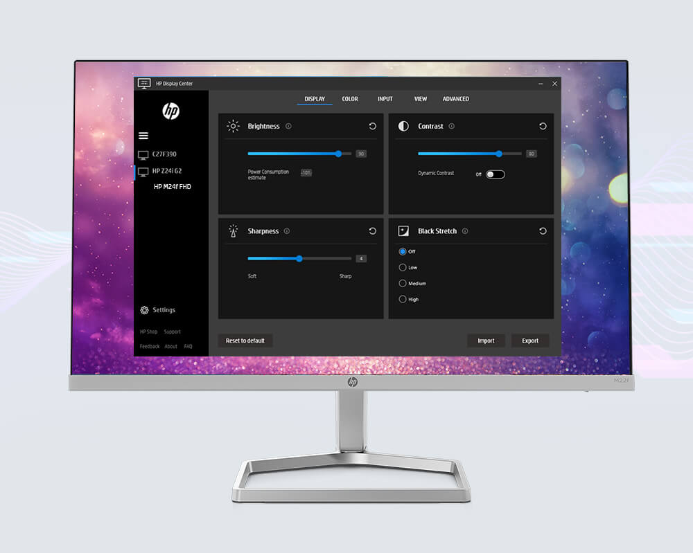 HP Display Center